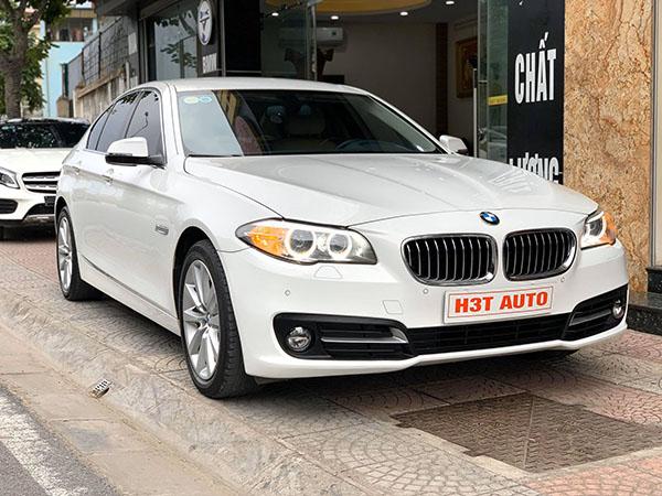 Mới cập bến H3T Auto xe BMW 520i 2016 màu Trắng chạy 41724 km