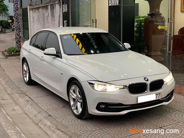 Xe BMW 330 Model 2017 cũ màu Trắng chạy 38000 km xe đẹp giá tốt