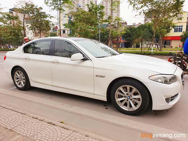 Xe BMW 520i đăng ký 2013 màu Trắng cực mới giá tốt