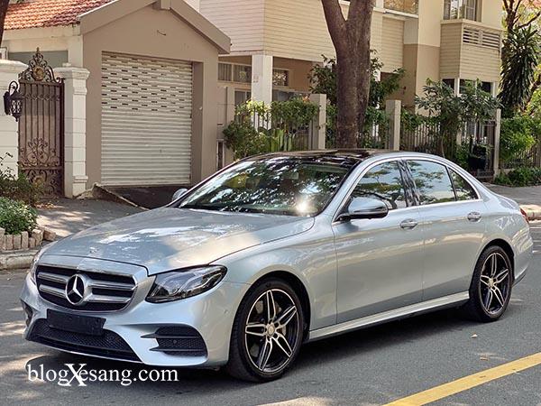 Bán xe Mercedes E300 AMG cũ, Nội thất nâu, Đăng ký 2018 chạy 29058 km giá rẻ