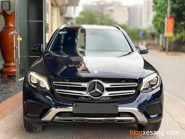 Xe Mercedes GLC250 cũ đời 2017 màu Xanh Cavansitle chạy 25000 km giá rẻ