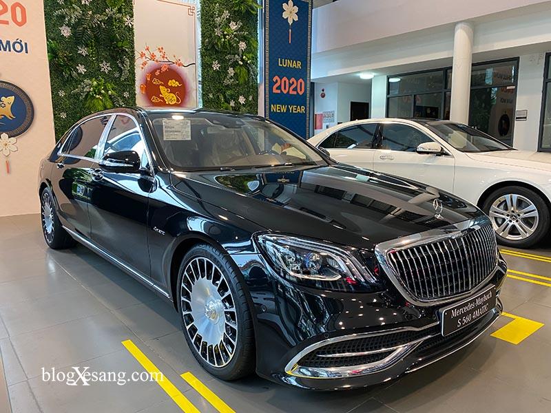 Đánh giá xe Mercedes Maybach S560