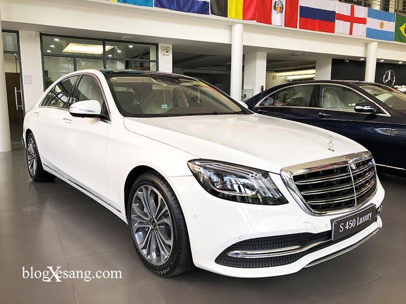 Đánh giá xe Mercedes S450 Luxury