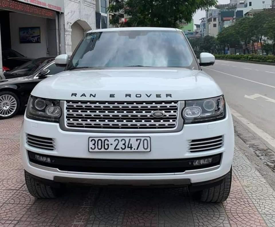 Bán xe Ranger Rover HSE 3.0 tên cá nhân