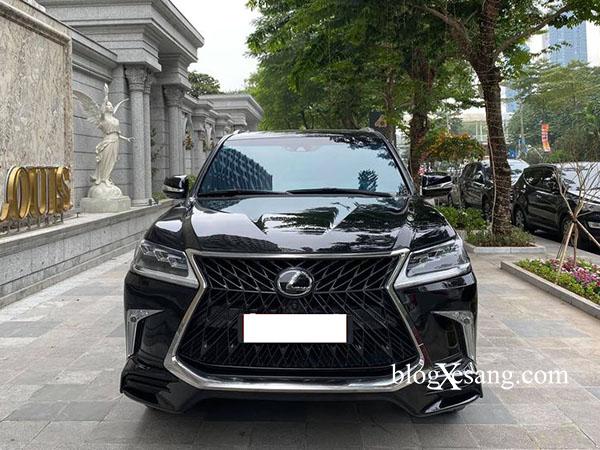 Bán xe Lexus LX570 sx 2019 bản MBS 4 chỗ nhập Trung Đông, chạy lướt 8000 km