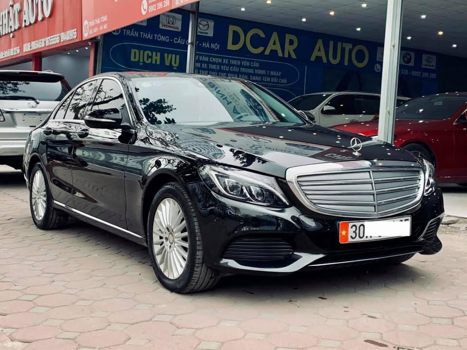 Mercedes C250 2015 Màu Đen, Xe cực đẹp, Giá cực rẻ