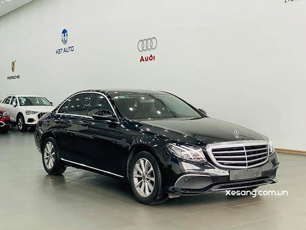 Mercedes E200 2019 cũ màu Đen nội thất Nâu, chạy cực ít, giá cực rẻ, XEM NGAY