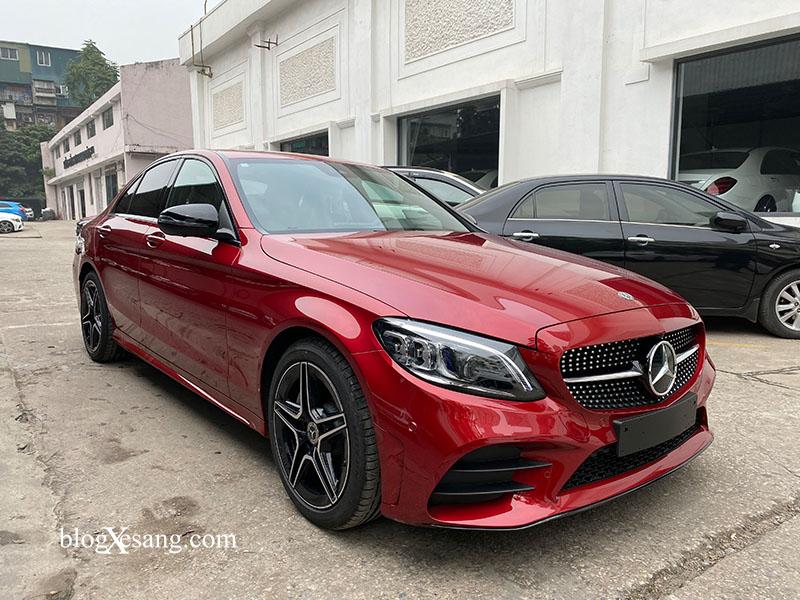 Giá xe Mercedes C300 AMG mới nhất tháng [thang]/[nam], Giảm giá lên tới tới 60 triệu