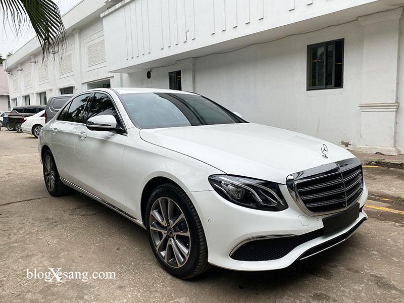 Giá xe Mercedes E200 Exclusive mới nhất tháng [thang]/[nam], Giảm giá lên tới 79 triệu