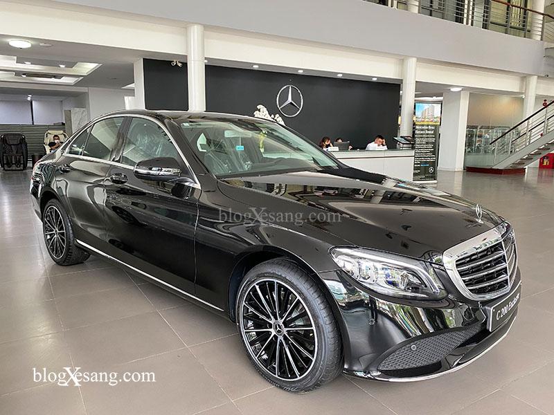 Giá xe Mercedes C200 Exclusive mới nhất tháng [thang]/[nam], Giảm giá lên tới 90 triệu