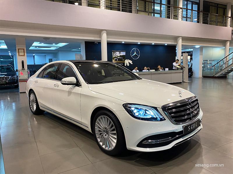 Giá xe Mercedes S450L mới nhất tháng [thang]/[nam], Giảm giá lên tới 250 triệu