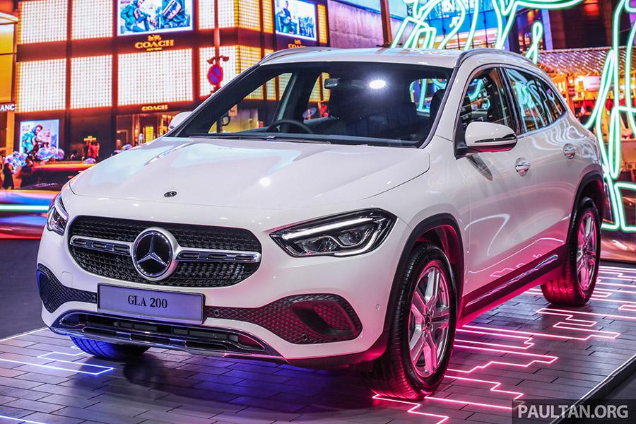 Chi tiết Mercedes-Benz GLA 2021 vừa được ra mắt tại Malaysia, giá bán từ 60.229 USD