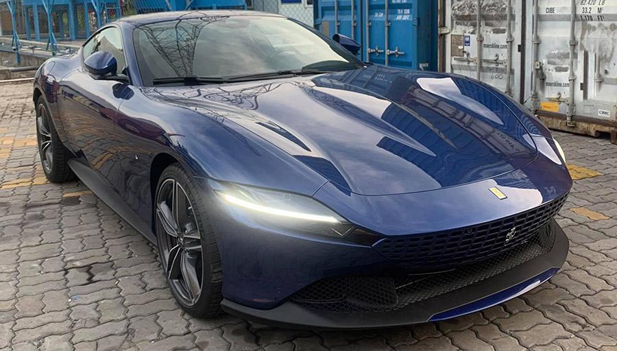 Hình ảnh siêu xe Ferrari Roma đầu tiên được tư nhân nhập khẩu về Việt Nam giá khoảng hơn 20 tỷ đồng