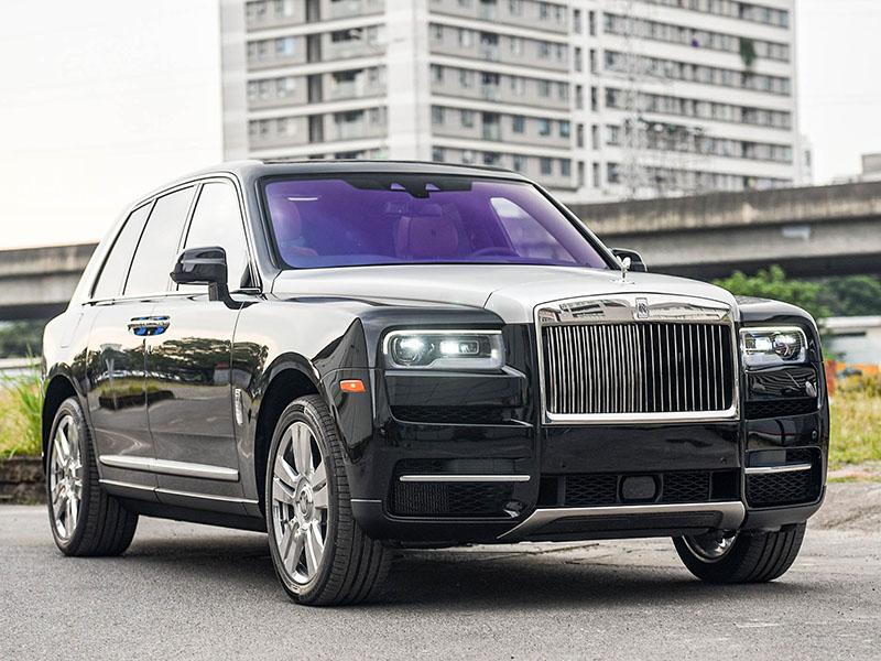 Chi tiết Rolls-Royce Cullinan phiên bản 5 chỗ được nhập khẩu bởi đại lý tư nhân