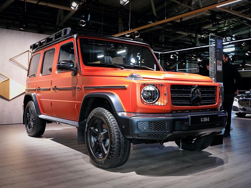 Mercedes-Benz G-Class 2022 nâng cấp trang bị và bổ sung gói trang trí Professional Line