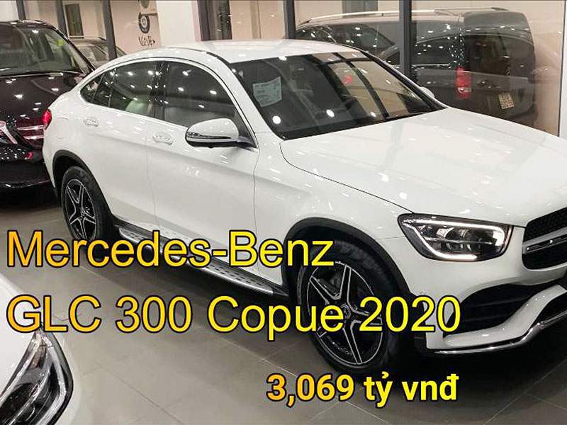 Giới thiệu chi tiết xe Mercedes GLC 300 4Matic Coupe 2020