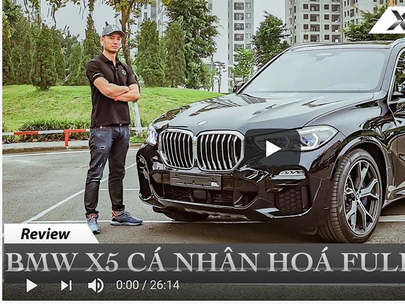 Chi tiết BMW X5 Cá Nhân Hoá Full Option đầu tiên Việt Nam