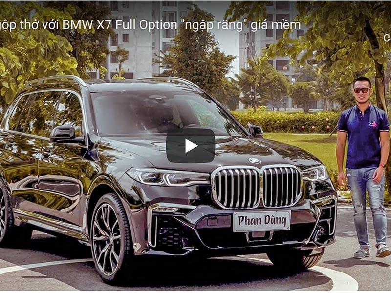 Ngộp thở với BMW X7 Full Option ngập răng giá mềm